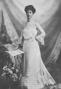 Vida Goldstein (c. 1900). Image via National Library of Australia.