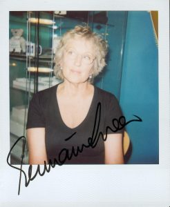 Germaine Greer, signed photograph, 2006 Humber Mouth Literature Festival, Hull, England. Image via Wikimedia Commons.