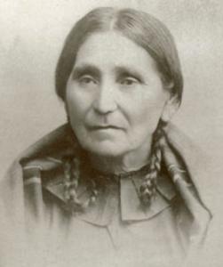 "Mary ""Hinnuagsnun"" Gale La Flesche (1827-1909). Image via Wikimedia Commons."