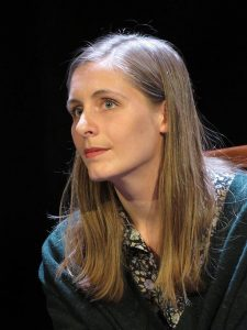 Eleanor Catton, 2015. Photograph by Mariusz Kubik. Image via Wikimedia Commons.