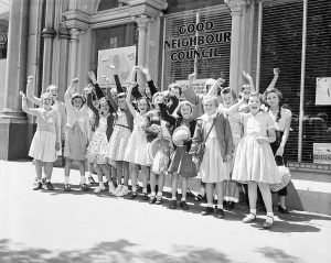 Good Neighbour Council of Victoria, 1957. Image via Department of Foreign Affairs and Trade.