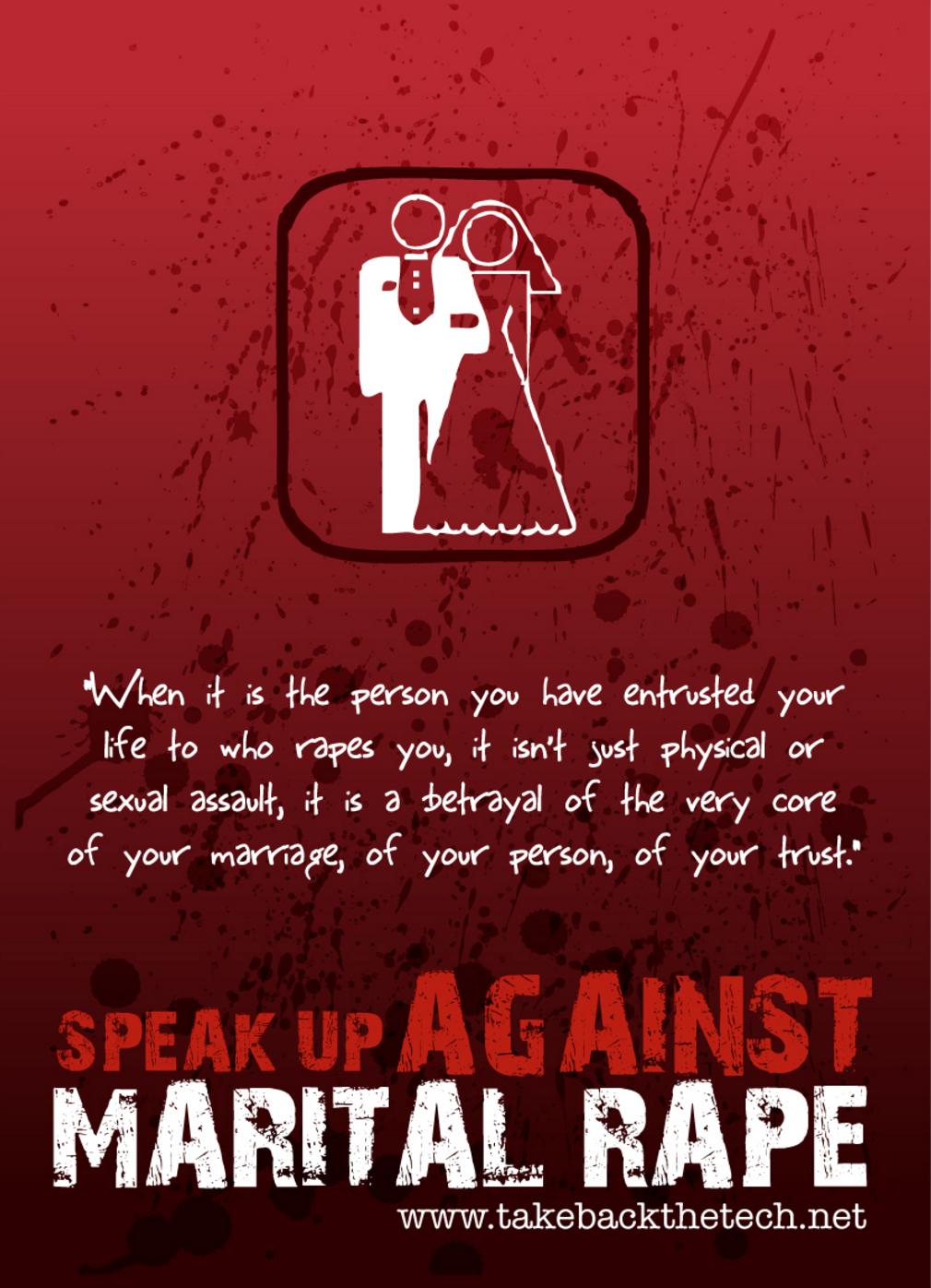 causes of marital rape