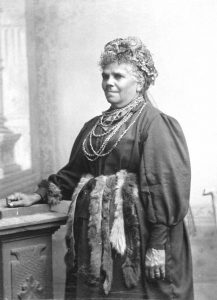 Fanny Cochrane Smith (1834-1905), Indigenous leader. Image via Wikimedia Commons.