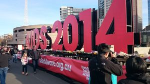 International AIDS Conference, Melbourne, 2014. Image via Wikimedia Commons.