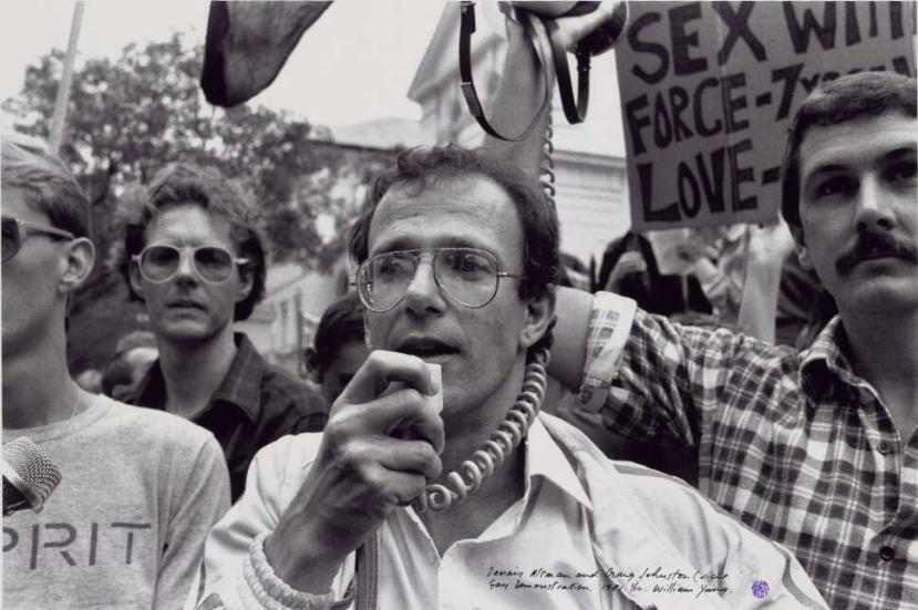 In 1980s the campaign for homosexual rights